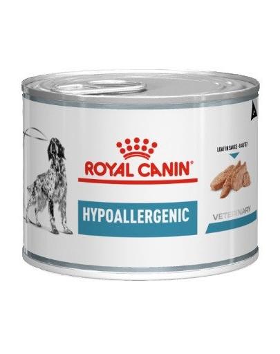 ROYAL CANIN Dog Hypoallergenic hrana umeda caini adulti cu reactii adverse la alimente 200 g