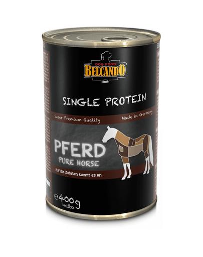 BELCANDO Single Protein hrana umeda pentru caini, cu carne de cal, 400 g