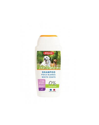 ZOLUX Sampon pentru cainii cu blana alba, 250 ml fera.ro