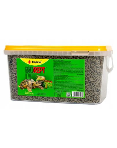 TROPICAL Biorept L hrana pentru broaste testoase 5 l/1,4 kg fera.ro
