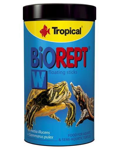 TROPICAL Biorept W hrana extrudata pentru broaste testoase 1000ml/300g fera.ro