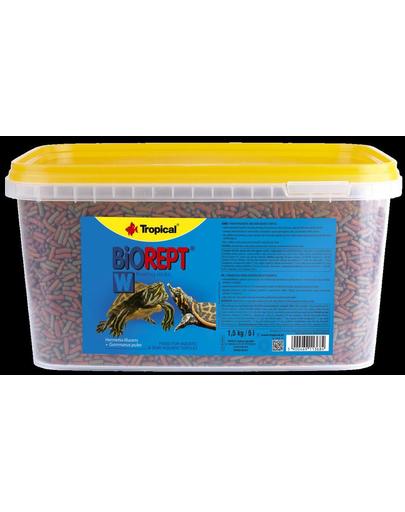 TROPICAL Biorept W hrana extrudata pentru broaste testoase 5l/1.5kg fera.ro