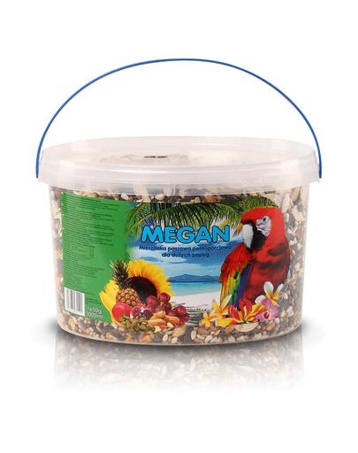 MEGAN Hrana pentru papagali mari 3l/1650g