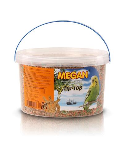 MEGAN Hrana pentru papagali ondulati 3l /2310g