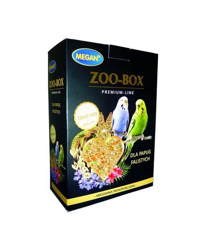 MEGAN Zoo-Box Premium Line Hrana pentru papagali ondulati 750g