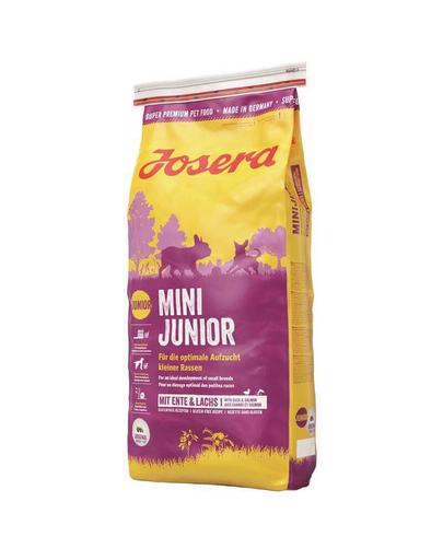 JOSERA Mini Junior hrana uscata caini juniori talie mica 15 kg + bol GRATIS