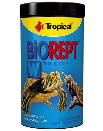 TROPICAL Biorept W hrana extrudata pentru broaste testoase 100 ml / 30 g fera.ro