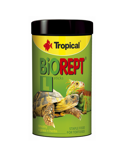 TROPICAL Biorept L hrana pentru broaste testoase 250 ml / 70 g fera.ro