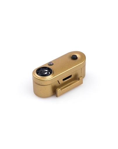 TICKLESS Mini Dog Dispozitiv cu ultrasunete anti-capuse si purici, pentru caini de rase mici, auriu