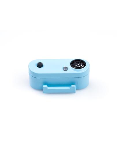 TICKLESS Mini Dog Dispozitiv cu ultrasunete anti-capuse si purici, pentru caini de rase mici, Baby Blue