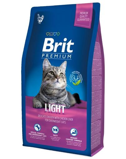 BRIT Premium Cat Light 8 kg