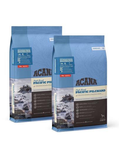 ACANA Pacific Pilchard hrana uscata caini adulti 22,8 kg (2 x 11,4 kg)