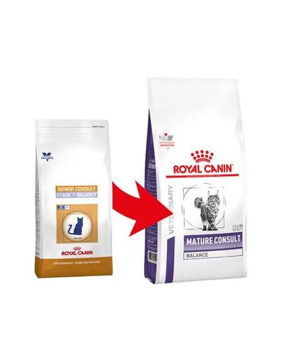 ROYAL CANIN Cat Mature Consult Balance 3.5 kg hrana dietetica pentru pisici de peste 7 ani, fara semne vizibile de imbatranire, cu tendinta de supraponderalitate