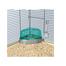 TRIXIE Toaletă de colț cu acoperiș și lopățică